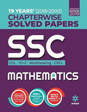 SSC Chapterwise Solved Papers Mathematics 2019