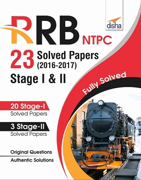RRB NTPC 23 Solved Papers 2016-17 Stage I & II English Edition