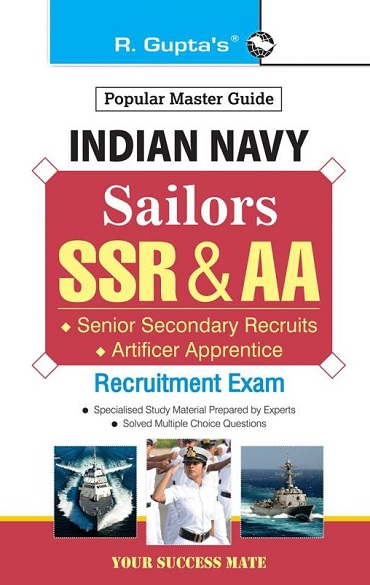 Indian Navy: Sailors (SSR & AA) Recruitment Exam Guide  (English)
